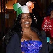 American rapper Azealia Banks seen leaving her hotel wearing a strange Irish flag helmet on the way to her Dublin concert at The Academy amid much controversy when she called all Irish women 'ugly' & 'oompa loompas' this week after an altercation on an Aer Lingus flight, Dublin, Ireland - 22.01.19. Pictures: Cathal Burke / VIPIRELAND.COM **IRISH RIGHTS ONLY**