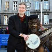 Dublin City honours Music The Dubliners singer Luke Kelly with a statue by John Coll on South King Street, Dublin, Ireland - 30.01.19. Pictures: Cathal Burke / VIPIRELAND.COM **IRISH RIGHTS ONLY**