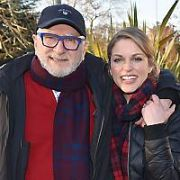 Amy Huberman & her father Harold Huberman at The Ray Darcy Show to talk about Harold's new book Max Maxim, RTE, Dublin, Ireland - 04.02.19. Pictures: Cathal Burke / VIPIRELAND.COM **IRISH RIGHTS ONLY**