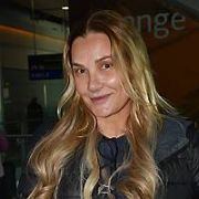 90s Saturday Night singing sensation Whigfield spotted at Dublin Airport Arrivals, Dublin, Ireland - 08.02.19. Pictures: Cathal Burke / VIPIRELAND.COM **IRISH RIGHTS ONLY**