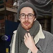 Hozier spotted at Today FM, Dublin, Ireland - 12.02.19. Pictures: Cathal Burke / VIPIRELAND.COM **IRISH RIGHTS ONLY**