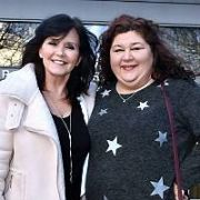 Maureen Nolan (The Nolans) & Cheryl Fergison (EastEnders) are guests on The Ray Darcy Show. Actor Simon Delaney was also a guest, RTE, Dublin, Ireland - 18.02.19. Pictures: Cathal Burke / VIPIRELAND.COM **IRISH RIGHTS ONLY**