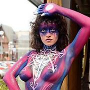 Dublin Body Painting Festival 2019 with a Zodiac theme at Red Cow Morans Hotel, Dublin, Ireland - 24.02.19. Pictures: G. McDonnell / VIPIRELAND.COM **IRISH RIGHTS ONLY**