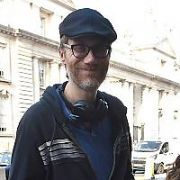 Stephen Merchant spotted at The Merrion Hotel, Dublin, Ireland - 27.02.19. Pictures: Cathal Burke / VIPIRELAND.COM **IRISH RIGHTS ONLY**