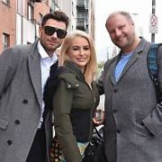 Dancing With The Stars' Cliona Hagen, Fred Cooke & Robert Rowinski spotted at their Dublin rehearsal studios, Dublin, Ireland - 19.03.19. Pictures: Cathal Burke  / VIPIRELAND.COM **IRISH RIGHTS ONLY**