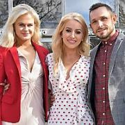 Dancing With The Stars 2019 contestants at the Ryan Tubridy Show, RTE, Dublin, Ireland - 25.03.19. Pictures: Cathal Burke / VIPIRELAND.COM **IRISH RIGHTS ONLY**