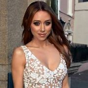 Una Healy Arrives at the launch of Fairyhouse Easter Horse Racing Festival at The Hibernian Club on St Stephen's Green, Dublin, Ireland - 02.04.19. Pictures: Cathal Burke / VIPIRELAND.COM **IRISH RIGHTS ONLY**