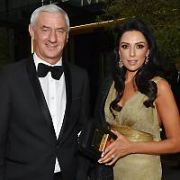 Newly engaged Ian Rush & Carol Anthony and other Liverpool Football Legends seen leaving The Marker Hotel ahead of Sean Cox Fundraiser in Aviva tomorrow, Dublin, Ireland - 11.04.19. Pictures: Cathal Burke / VIPIRELAND.COM **IRISH RIGHTS ONLY**