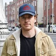 Michael Fassbender seen walking on Merrion Street Upper, Dublin, Ireland - 17.04.19. Pictures: Cathal Burke / VIPIRELAND.COM **IRISH RIGHTS ONLY**