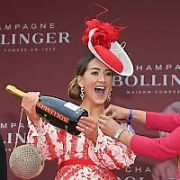Kate Nally McCormack wins the Bollinger Best Dressed Lady at the Punchestown Festival, Punchestown, Ireland - 03.05.19. Pictures: Jerry McCarthy / VIPIRELAND.COM **IRISH RIGHTS ONLY**