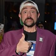 Hollywood actor & director Kevin Smith arriving at Vicar Street for a Live Podcast, Dublin, Ireland - 09.05.19. Pictures: VIPIRELAND.COM **IRISH RIGHTS ONLY**