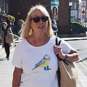 Anne Doyle walking past The Merrion Hotel, Dublin, Ireland - 14.05.19. Pictures: VIPIRELAND.COM **IRISH RIGHTS ONLY**