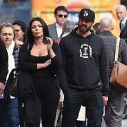 American Actor & former fiance of Lady Gaga, Taylor Kinney spotted with Irish socialite Melina Skvortsova walking around St Stephen's Green & Grafton Street, Dublin, Ireland - 28.05.19. Pictures: VIPIRELAND.COM **IRISH RIGHTS ONLY**