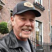Members of Metallica (James Hetfield, Lars Ulrich, Kirk Hammett, Robert Trujillo) arrive in Dublin ahead of their mega concert at Slane Castle tomorrow, Dublin, Ireland - 07.06.19. Pictures: VIPIRELAND.COM **IRISH RIGHTS ONLY**