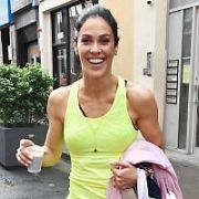 Glenda Gilson Spotted at with her Personal Trainer Paul Byrne at his BodyByrne Gym on Clarendon Street, Dublin, Ireland - 14.06.19. Pictures: VIPIRELAND.COM **IRISH RIGHTS ONLY**