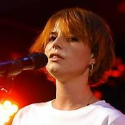Actress Jessie Buckley performs songs from the Wild Rose movie soundtrack at Whelans, Dublin, Ireland - 30.06.19. Pictures: VIPIRELAND.COM **IRISH RIGHTS ONLY**