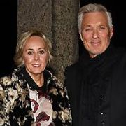 Martin Kemp & wife Shirlie Holliman amongst guests at The Ray Darcy Show, RTE, Dublin, Ireland - 16.11.19. Pictures: VIPIRELAND.COM **IRISH RIGHTS ONLY**