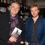 Brendan Gleeson's son Rory Gleeson presents his play 'Blood in The Dirt' at The New Theatre in Temple Bar, Dublin, Ireland - 20.11.19. Pictures: VIPIRELAND.COM **IRISH RIGHTS ONLY**