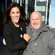 Glenda Gilson spotted practising with Robert Rowinski for RTE's Dancing with the Stars, Michael Carruth also spotted at the dance studios, Dublin, Ireland - 16.12.19. Pictures: VIPIRELAND.COM **IRISH RIGHTS ONLY**