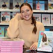 Rozanna Purcell signs copies of her book 'No Fuss Vegan' at Easons Dundrum, Dublin, Ireland - 18.01.20. Pictures: VIPIRELAND.COM **IRISH RIGHTS ONLY**