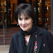 Rarely seen in public, Irish singer Enya spotted at The Westbury Hotel with her recording partner Nicky Ryan, Dublin, Ireland - 31.01.20. Pictures: VIPIRELAND.COM **IRISH RIGHTS ONLY**