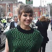 Actress Imogen Poots at the Merrion Hotel with actor boyfriend James Norton. She is in town for the premiere of her movie Vivarium, Dublin, Ireland - 26.02.20. Pictures: VIPIRELAND.COM **IRISH RIGHTS ONLY**