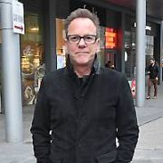 Kiefer Sutherland spotted walking in North Dublin City ahead of his concert at The Academy tomorrow, Dublin, Ireland - 28.02.20. Pictures: VIPIRELAND.COM **IRISH RIGHTS ONLY**