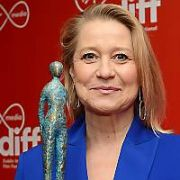 Danish actress Trine Dyrholm presented with Volta Award for contribution to the world of film at The Virgin Media Dublin International Film Festival 2020 at The Lighthouse Cinema with Danish actresses Louise Mieritz & Ditte Hansen, Dublin, Ireland - 27.02.20. Pictures: VIPIRELAND.COM **IRISH RIGHTS ONLY**