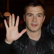 Shane Filan left the recording of RTE's Westlife Christmas Special carrying his wife's handbag, Nicky Byrne was carrying his twin sons Rocco & Jay, Mark Feehily's father Peter was carrying his son's Pug dog 'Saffie' while Louis Walsh left with Bubble Hits boss James Hyland, Dublin, Ireland - 21.12.07.