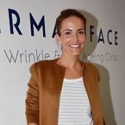 Exclusive Allround: Supermodel Sophie Anderton stops by DermaFace 'Anti Wrinkle & Anti Aging Clinic' for an anti-aging treatment with Dr Danielle Meagher ahead judging the Miss Ireland 2011 pageant this weekend, Dublin, Ireland - 12.08.11. Pictures: VIPIRELAND.COM
