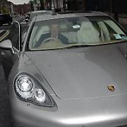 Irish Billionaire investor Dermot Desmond spotted in his luxurious Porsche Panamera sports car at The Merrion Hotel, Dublin, Ireland - 18.05.12. Pictures: VIPIRELAND.COM