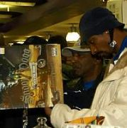 Snoop Dogg buys a copy of his latest single